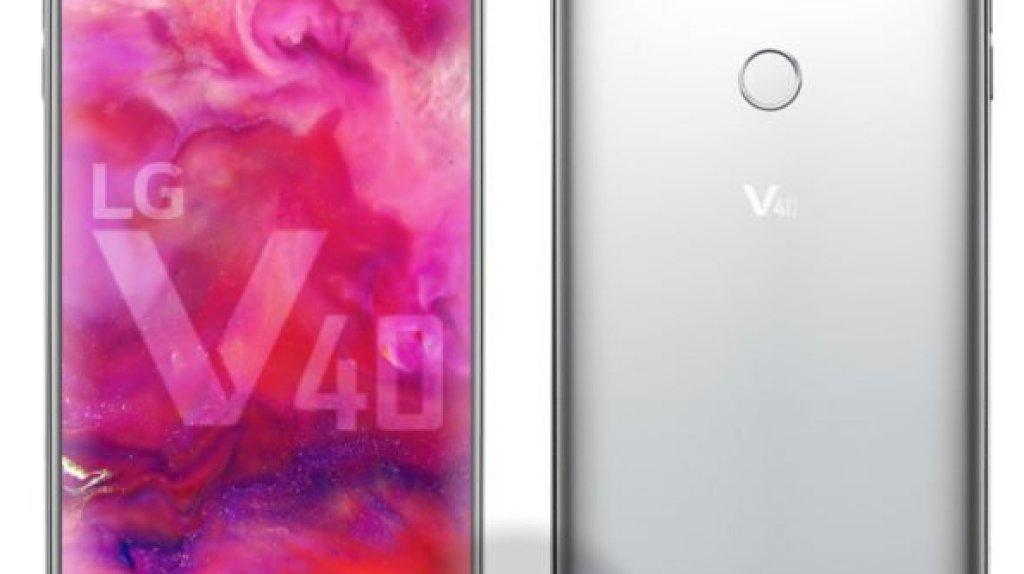 LG V40 ThinQ предложит сдвоенную фронтальную и строенную основную камеры