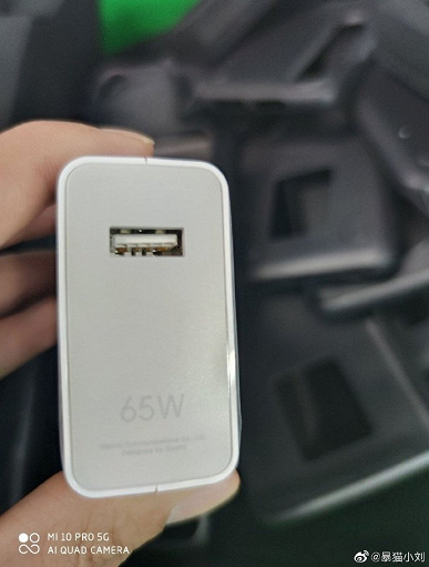 The first real photos of Xiaomi Mi 10 Pro from all sides, with a box and 65 W charge