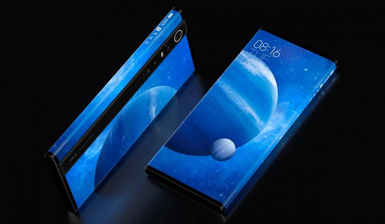 Сотрудник Xiaomi показал новое поколение уникального Mi Mix Alpha с опоясывающим экраном