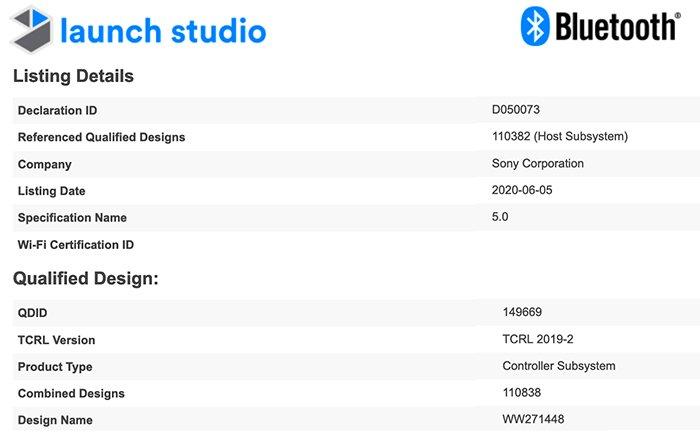 Новая полнокадровая камера Sony прошла сертификацию Bluetooth SIG