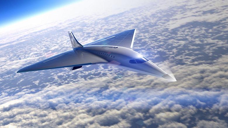 Возвращение сверхзвуковых пассажирских самолётов. Virgin Galactic приступает к первому этапу создания нового летательного аппарата