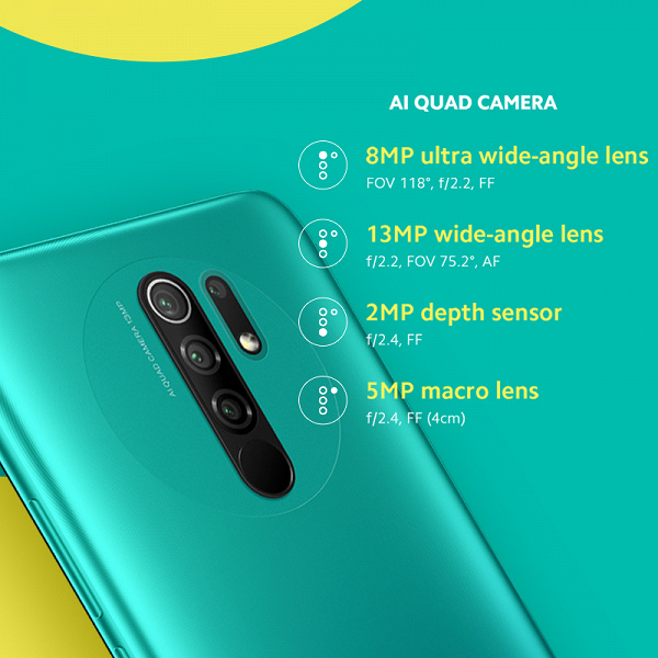 Новый потенциальный хит Xiaomi. Недорогой смартфон Redmi 9 с NFC появился на AliExpress до анонса