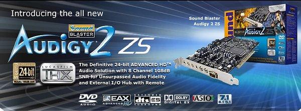 Sound Blaster Audigy Card