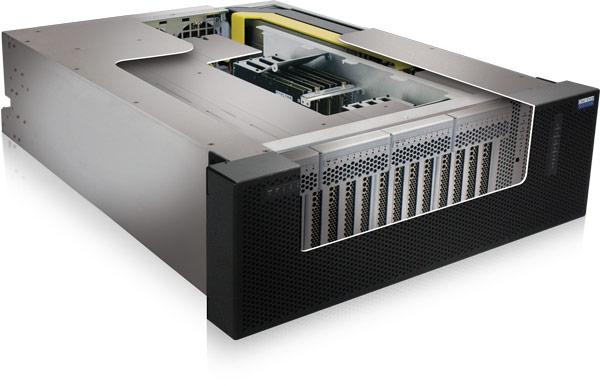 У One Stop Systems готов массив флэш-накопителей объемом до 100 ТБ, демонстрирующий производительность до 8 млн. IOPS