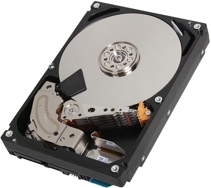 Представлен самый емкий HDD Toshiba для облачных хранилищ