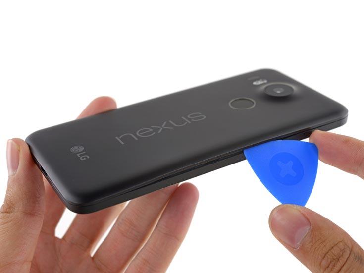 Смартфон Nexus 5X получил семь баллов из десяти возможных