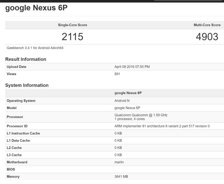 Google может выпустить обновлённый смартфон Nexus 6P с новой SoC