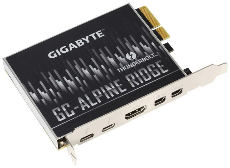 Gigabyte представила несколько новых устройств с поддержкой Thunderbolt 3
