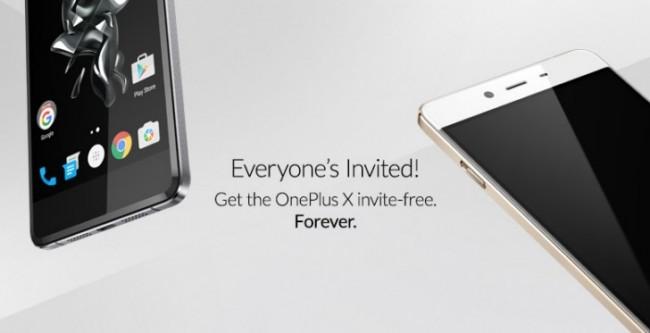 Для покупки смартфона OnePlus X больше не нужно приглашение