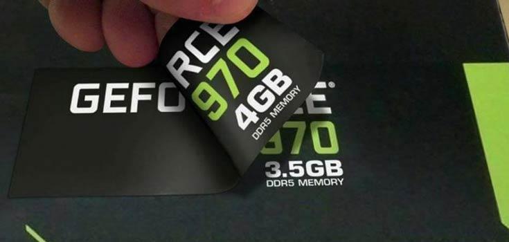3D-карта GeForce GTX 970 располагает 4 ГБ памяти, но только 3,5 ГБ из них работают быстро