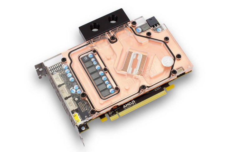EK Water Blocks готовит водоблок для новой видеокарты AMD