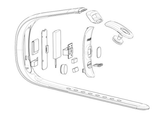 Старшая модель браслета Meizu H1 будет оснащена прозрачным гибким дисплеем