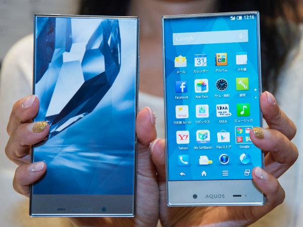 Sharp намерена продавать смартфоны в Европе