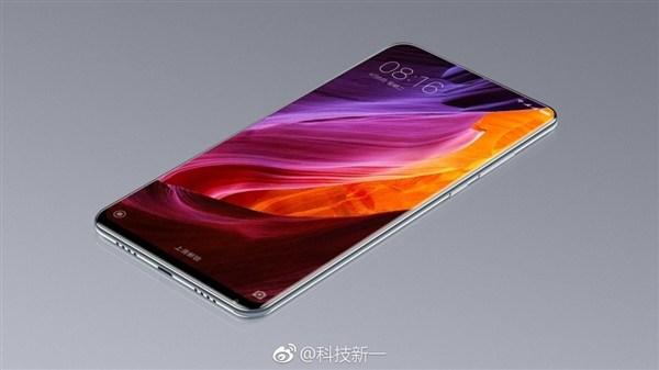 Опубликовано новое изображение безрамочного смартфона Xiaomi Mi Mix 2