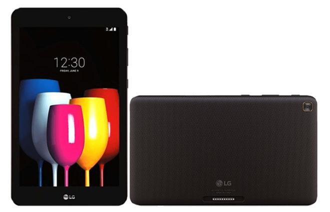 Восьмидюймовый планшет LG GPad X2 8.0 Plus получит док-станцию с дополнительным аккумулятором