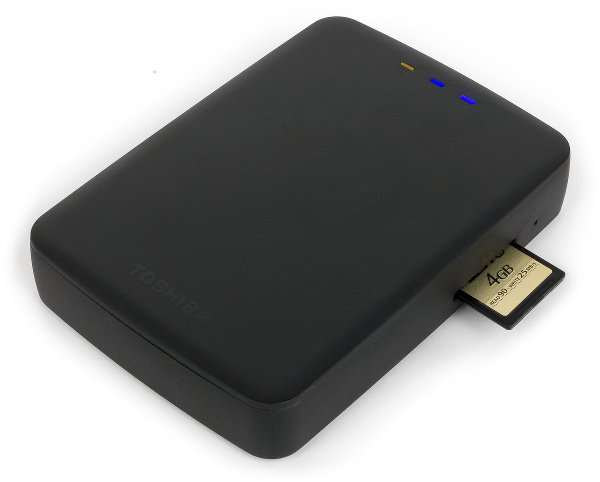 Беспроводной жесткий диск Toshiba Canvio AeroCast
