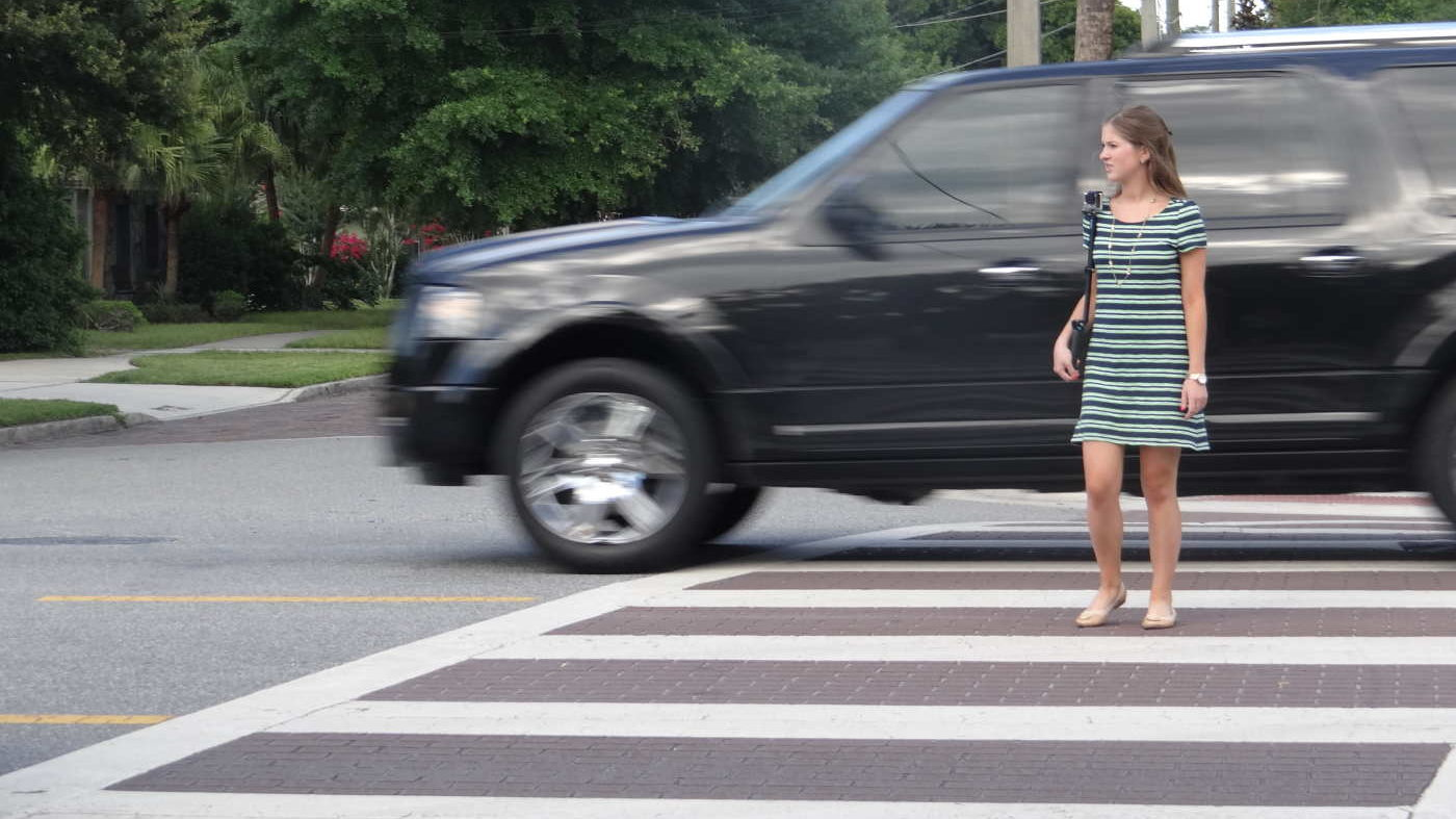 Operation Best Foot Forward: Crackdown At The Crosswalks Happening March 15