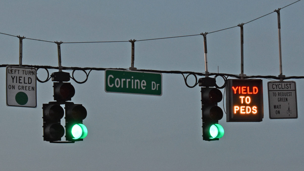 Can Corrine Dr. Become More Biking And Walking Friendly?