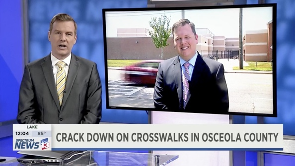 News 13's Ryan Harper Talks To Osceola Commissioner Grieb About Operation BFF