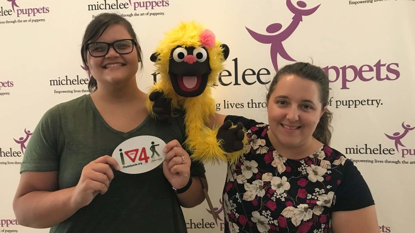 BFF Joins Michelee's Puppet Show In Maitland