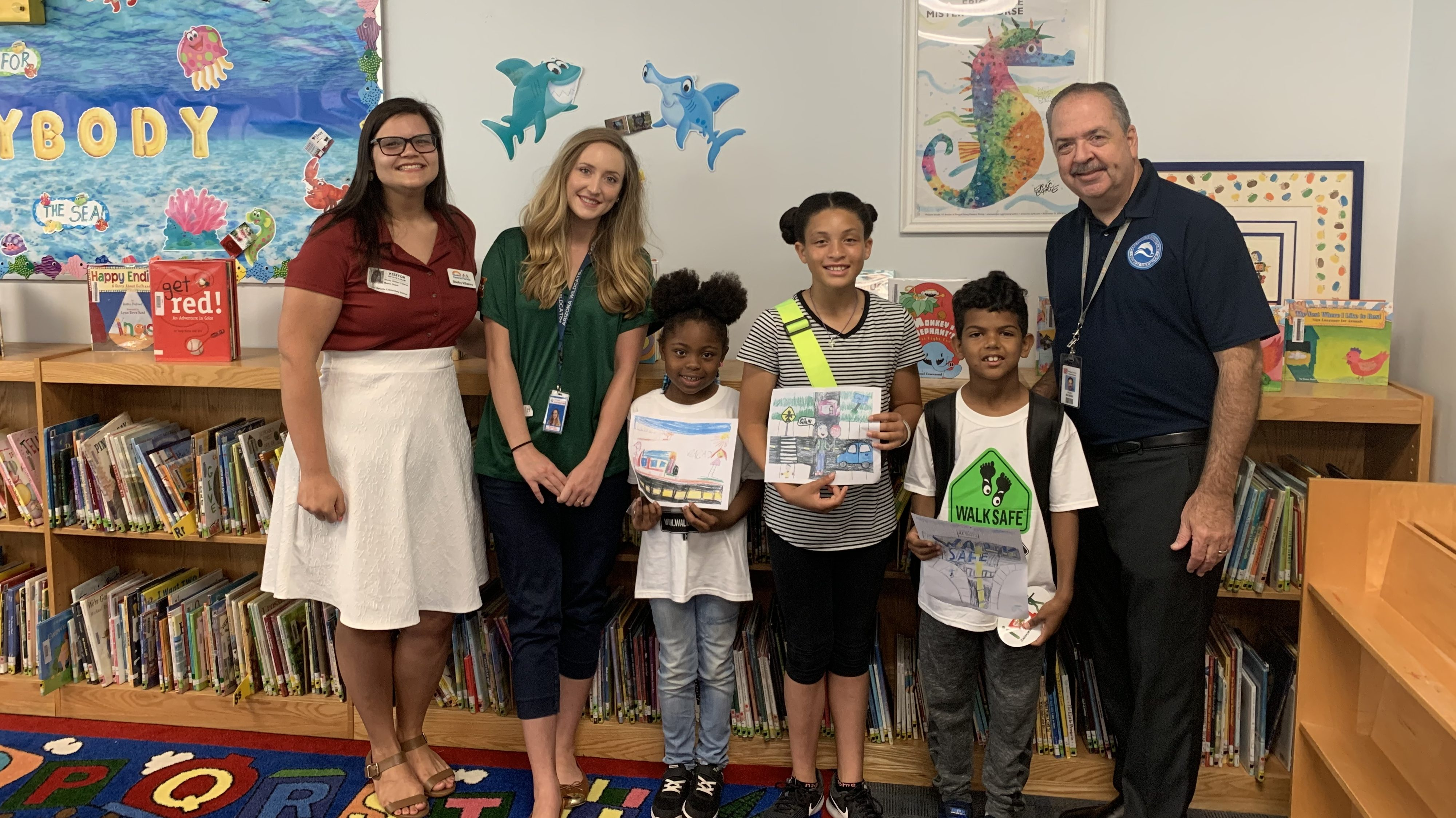 Orange County Students Create Award-Winning PED Safety Posters