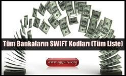 Tüm Bankaların SWIFT Kodları (Tüm Liste)