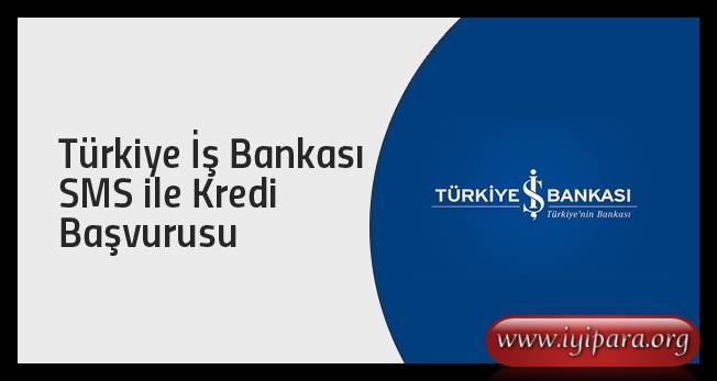 İş Bankası 4402 SMS Kredi Başvurusu