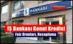 İş Bankası Konut Kredisi 2019 (Başvuru Şartları, Faiz Oranları)