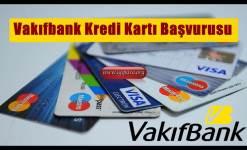 Vakıfbank Kredi Kartı Başvurusu (Anında World Kart)