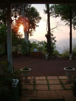 sunrise at the hotel
