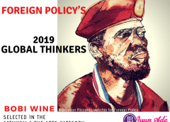 Bobi Wine Named in Foreign Policy's 2019 Global Thinkers