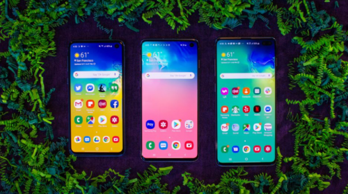 Samsung Galaxy S10, S10E and S10
