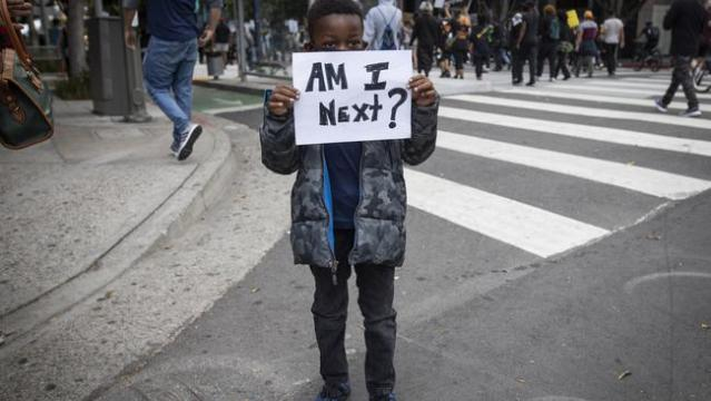 'I can't breathe' protests spread across America after George Floyd killing