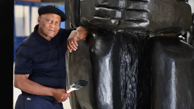 Pitika Ntuli' hailed for his bone exhibition at National Arts Festival