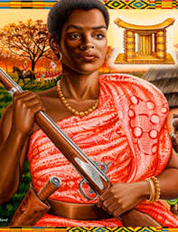 QUEEN MOTHER YAA ASANTEWAA OF EJISU