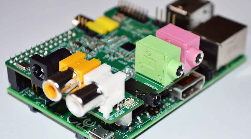 RaspberryPi for radio remote control with voice support - Andrea