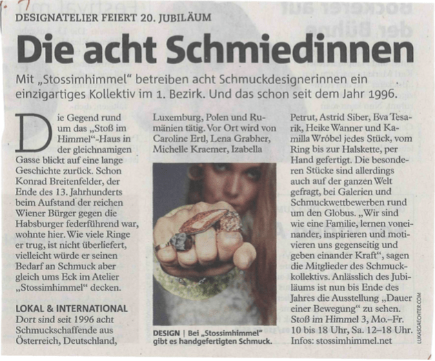 atelier stossimhimmel vienna in press izabellapetrut art jewelry