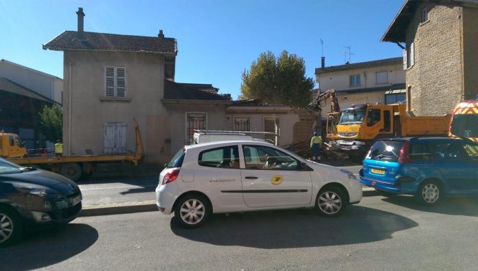 Pas un peu dur le retour - Crédit photo izart.fr