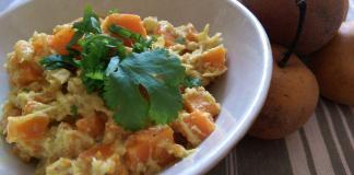 Recette N° 66 - Curry de carottes à la noix de coco - Crédit photo izart.fr