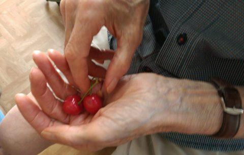 Avancer main dans la main avec Alzheimer - Crédit photo izart.fr