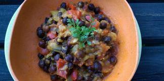 Recette N°96 - Salade de pois chiches à l'indienne - Crédit photo izart.fr