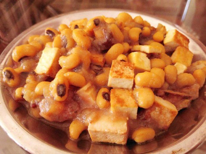 Recette N°139 - Ragoût de haricots au Vadouvan et tofu fumé - Crédit photo izart.fr
