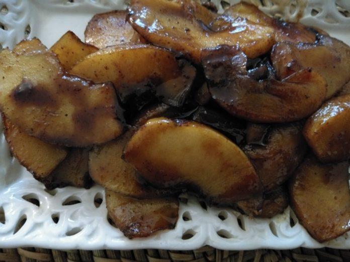 Recette N°163 - Pommes rôties à l'indienne - Crédit photo izart.fr