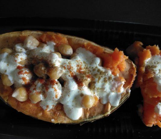 Recette N°178 - Duo patate douce et pois chiches - Crédit photo izart.fr