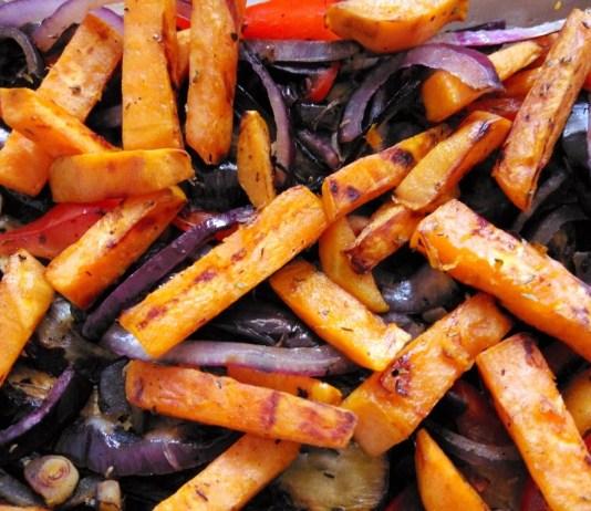 Recette N°183 - Légumes rôtis au four - Crédit photo izart.fr