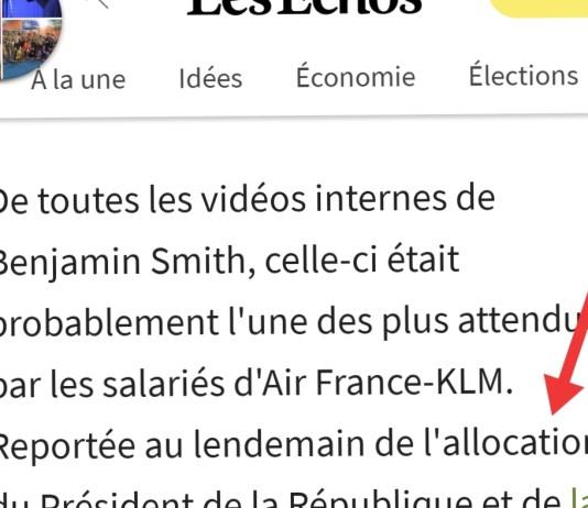 L'allocation du Président de la République - Crédit photo izart.fr
