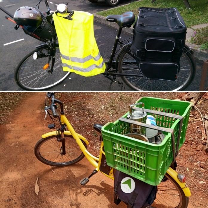 Mon vélo 2016 vs mon vélo 2020 - Crédit photo izart.fr