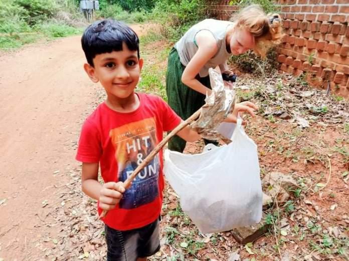 World Cleanup Day à Auroville - Crédit photo izart.fr