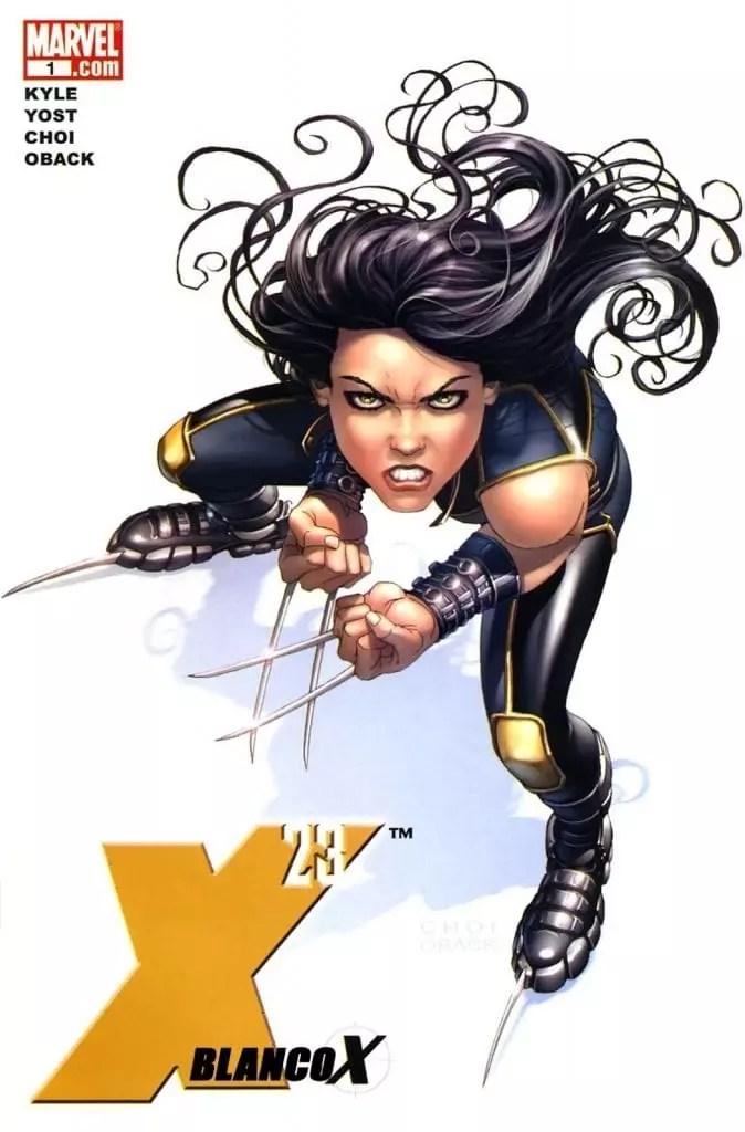X-23 Blanco X Comic