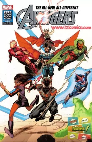 Descarar Comics pdf All New All Diferent Avenger